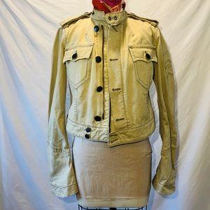 Khaki, Military jacket.